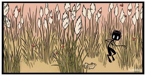 Wendigo in spring by Algesiras