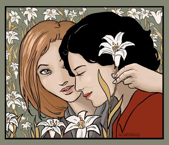 Lilies by Algesiras