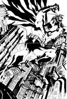 THE BAT by comicsofjoebennett