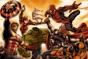 marvels colors by comicsofjoebennett