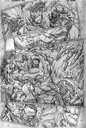 The Immortal Hulk # 05 Page # 13 by comicsofjoebennett