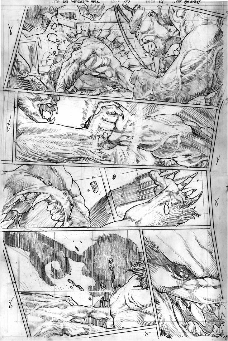 The Immortal Hulk # 05 Page # 14 by comicsofjoebennett