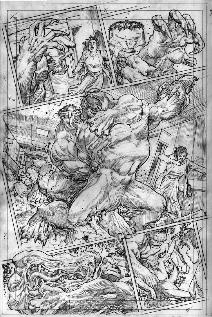 The Immortal Hulk # 05 Page # 16 by comicsofjoebennett
