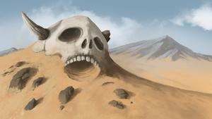 Desert Skull by Ksome