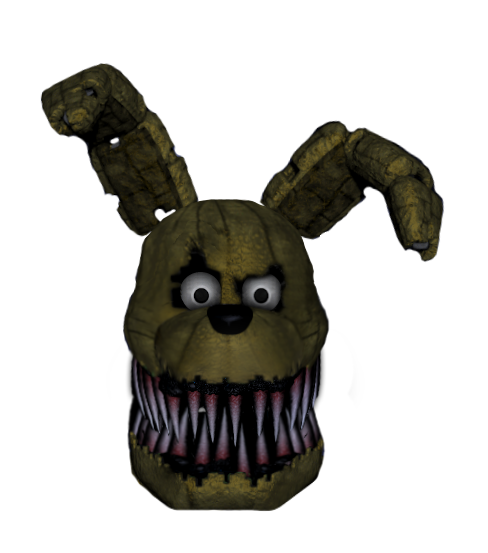 Nightmare Plushtrap Head By Pinkampharos On Deviantart