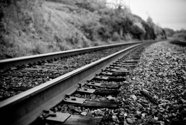 Lonesome Railroad by Jayelless