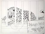 The Hunger Artist by comixqueen