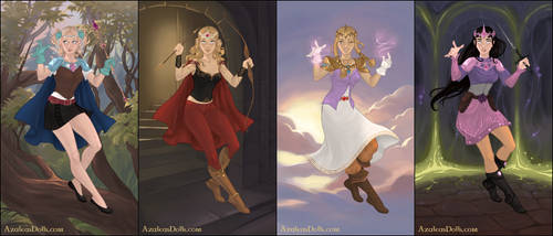 SP Girls of Fantasy by Kitty-McGeeky97