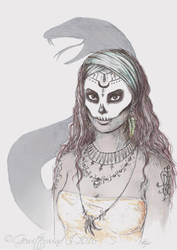 Voodoo Witch by ThaOnlyMoonchild