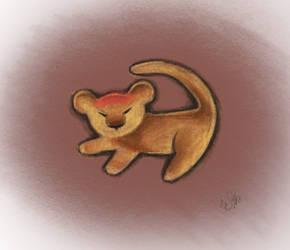 Simba (Procreate) by ThaOnlyMoonchild