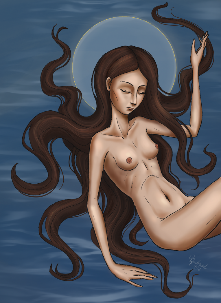 Drowning Goddess by ThaOnlyMoonchild