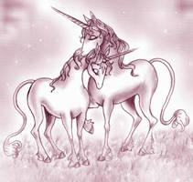 The Last Unicorn: Soulmates by pegacorn