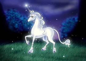 The Last Unicorn: Sparkles by pegacorn