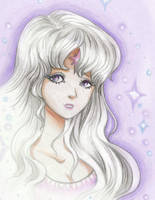 Lady Amalthea by pegacorn