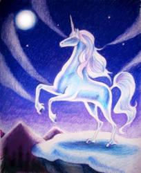 Moonlight Unicorn by pegacorn