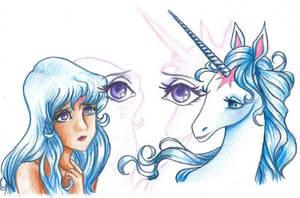 The Last Unicorn - Who Am I?? by pegacorn