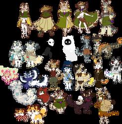 Cat OC Dump by Nifty-senpai
