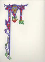 'M' by draconis-regena