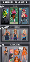 [CLOSED]Updated Commission Prices by Wrenzephyr2