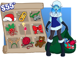 [CLOSED] Misha's Gifts and Tricks Holiday Fun Sale by Wrenzephyr2