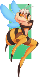 CMSN: EXILE Bee by Wrenzephyr2