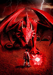 Dragon Spell by zakyotics