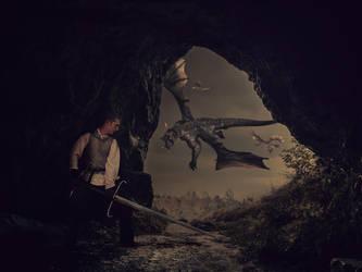 Dragon Cave by zakyotics