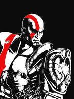 Kratos by BlackSheep3000