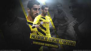 Henrikh Mkhitaryan - Borussia Dortmund by Designer-Dhulfiqar