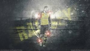 Aaron Ramsey - Arsenal by Designer-Dhulfiqar