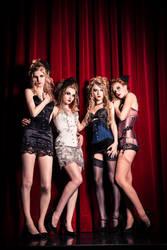stage girls by LichtReize