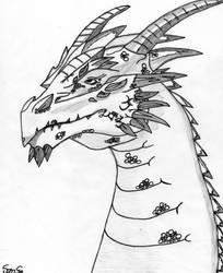 Dragon Bust by PirateGeek5550