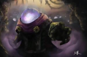 Mysterio Fan Art by M-KASKOWSKI