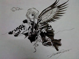 Fallen Angel by imyongyong