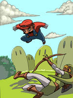 Smash Brothers-Fight. by zak29