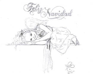 Angel de Navidad by TinisaPlus