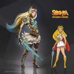 She-Ra Princess of Power concept by JaimeGervais