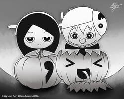 Drawlloween Day 6: Pumpkin by Ady-PettyCharlotte