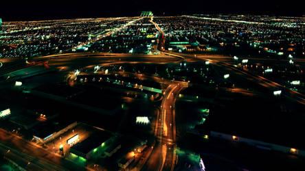 One Night In Vegas by dozzyExplorer