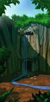 Hidden temple by lejellycat