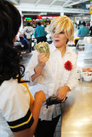 P4: Teddie Meets Cash by cafe-lalonde