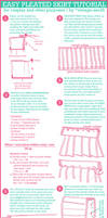 Easy Pleated Skirt Tutorial by cafe-lalonde