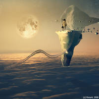 Moon musician by vimark