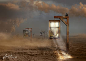 Ghost City by vimark