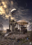 Post office on the distant land by vimark