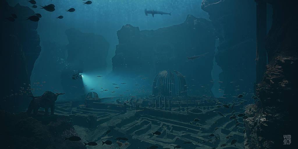 Touching Atlantis by vimark