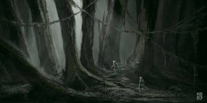 Lost on Endor by vimark