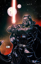Lord Vader colors by BanebrookStudios