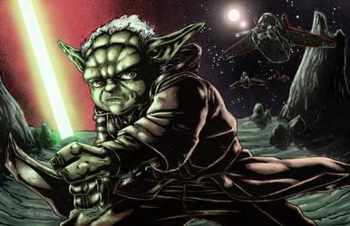Master Yoda colors by BanebrookStudios