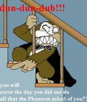 Evil Phantom Monkey by Punjabchild